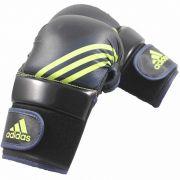 Luva de MMA Speed Treino Preto c/ Amarelo Solar - Adidas