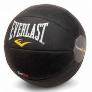 Medicine Ball Power Core Preto 4Kg EverGrip Everlast