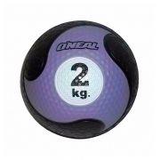 Medicine Ball Sem Alça Borracha Antiderrapante 2kg Oneal