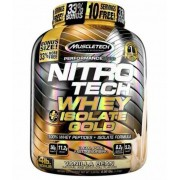 Nitro Tech 100% Whey Isolate Gold - 1,81kg - Muscletech