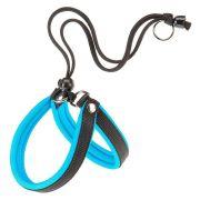 Peitoral Agila ErgoFluo Para Cães Azul - Nº2 Ferplast