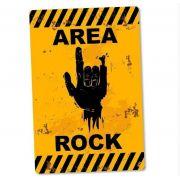 Placa Decorativa Area Rock 24x16