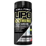Termogênico Lipo Extreme 120 Cápsulas Thermo Hardcore Cell Force