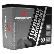 Termogênico Thermo Abdomen Black Bodyaction Termogênico 60 Tabletes