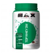 Top Whey 3W Mais Natural 900g - Max Titanium