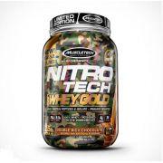 Whey 100% Whey Gold Nitro Tech 1.13Kg Camuflado Muscletech