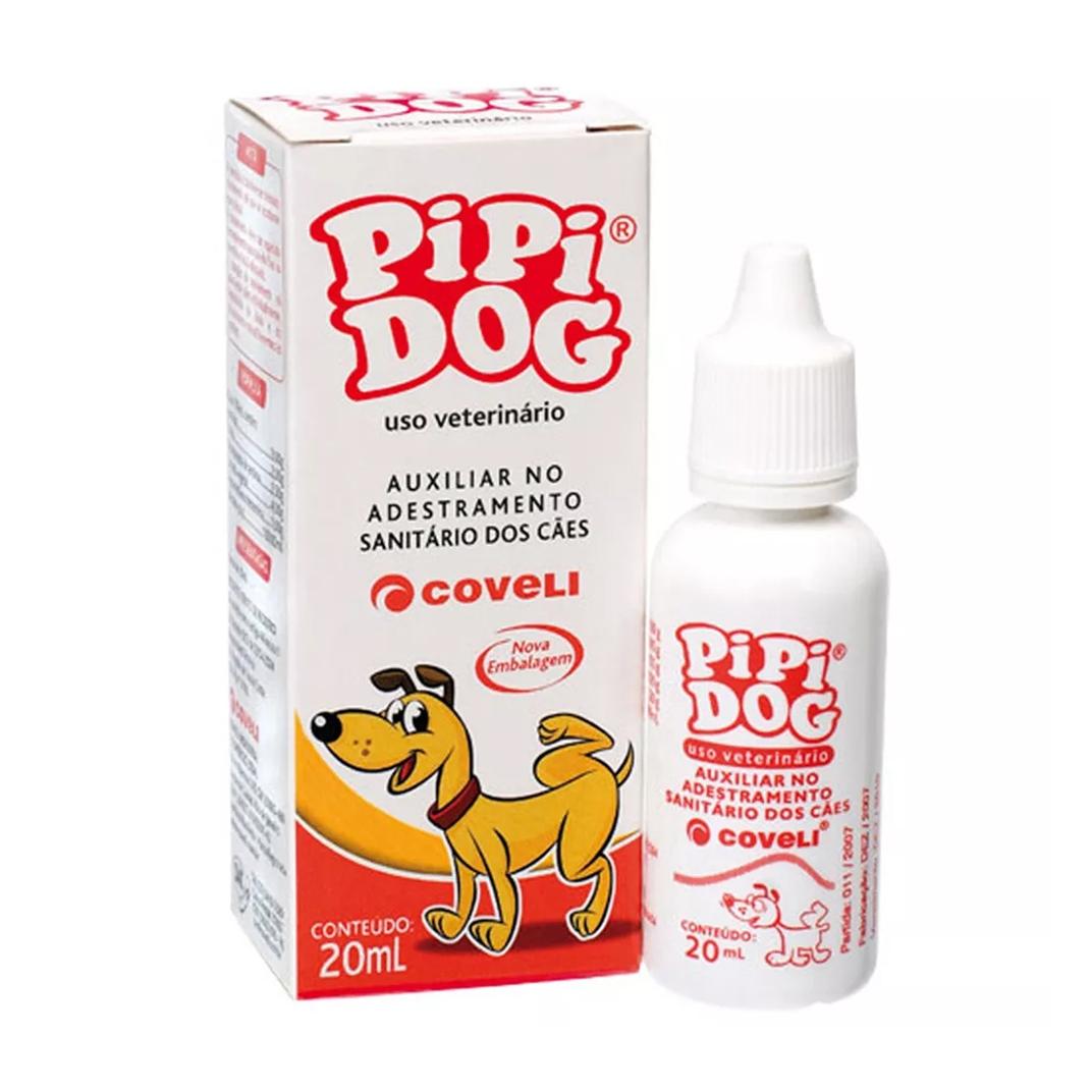 Adestrador Sanitário Pipi Dog para Cães - 20mL - Coveli