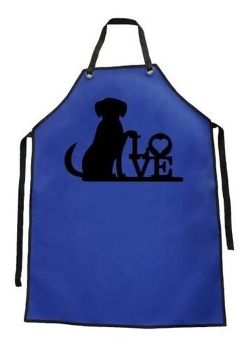 Avental de Courvin Impermeável - Estampa Love 1 - Funny Dogs