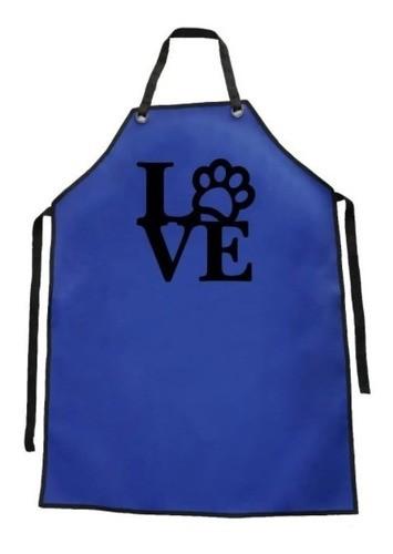 Avental de Courvin Impermeável - Estampa Pata Love - Funny Dogs