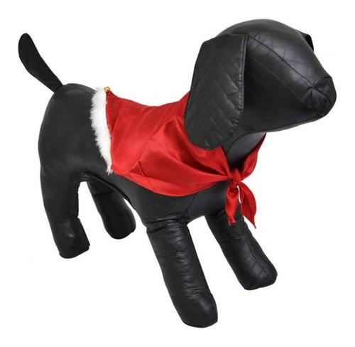 Bandana de Natal em Cetim com Guizo para Cães e Gatos - Pequena - São Pet