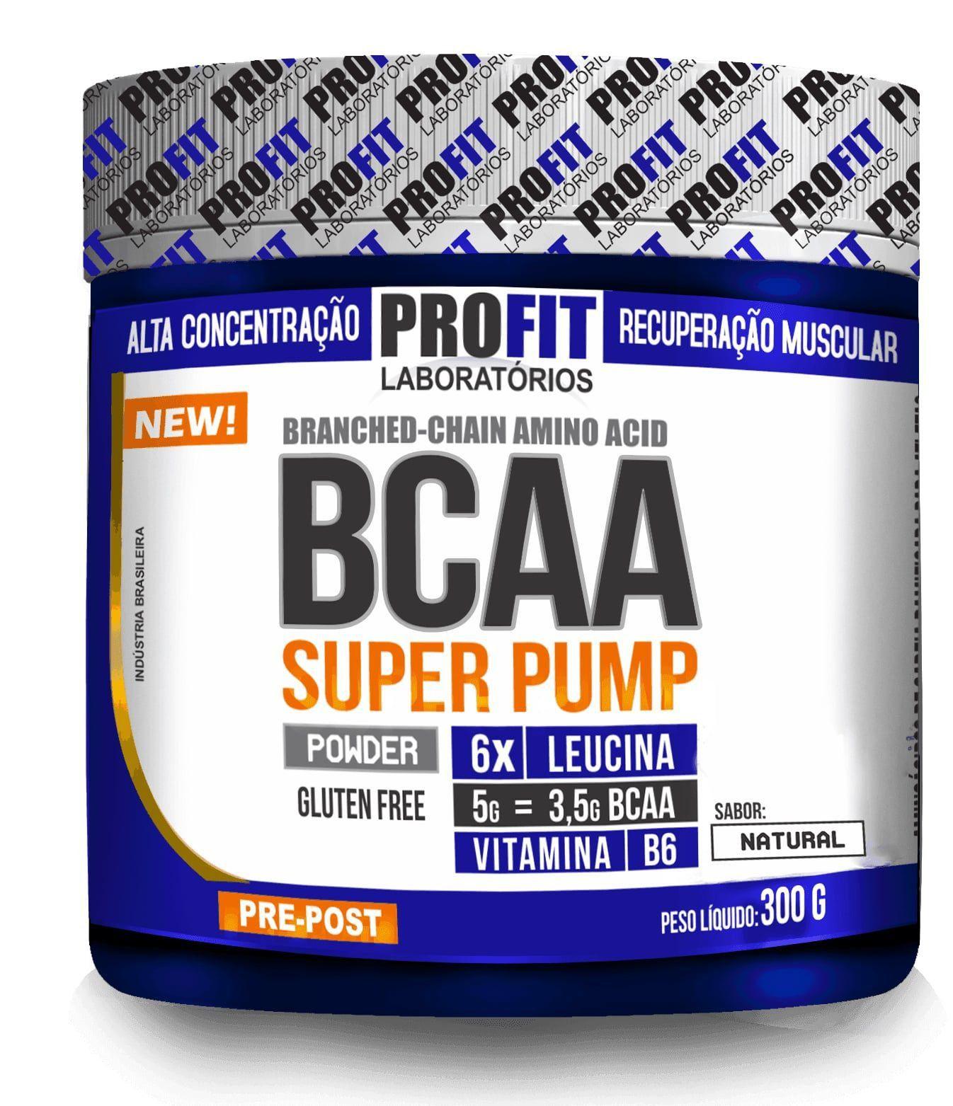 bcaa 6.1.1 super pump profit 300g