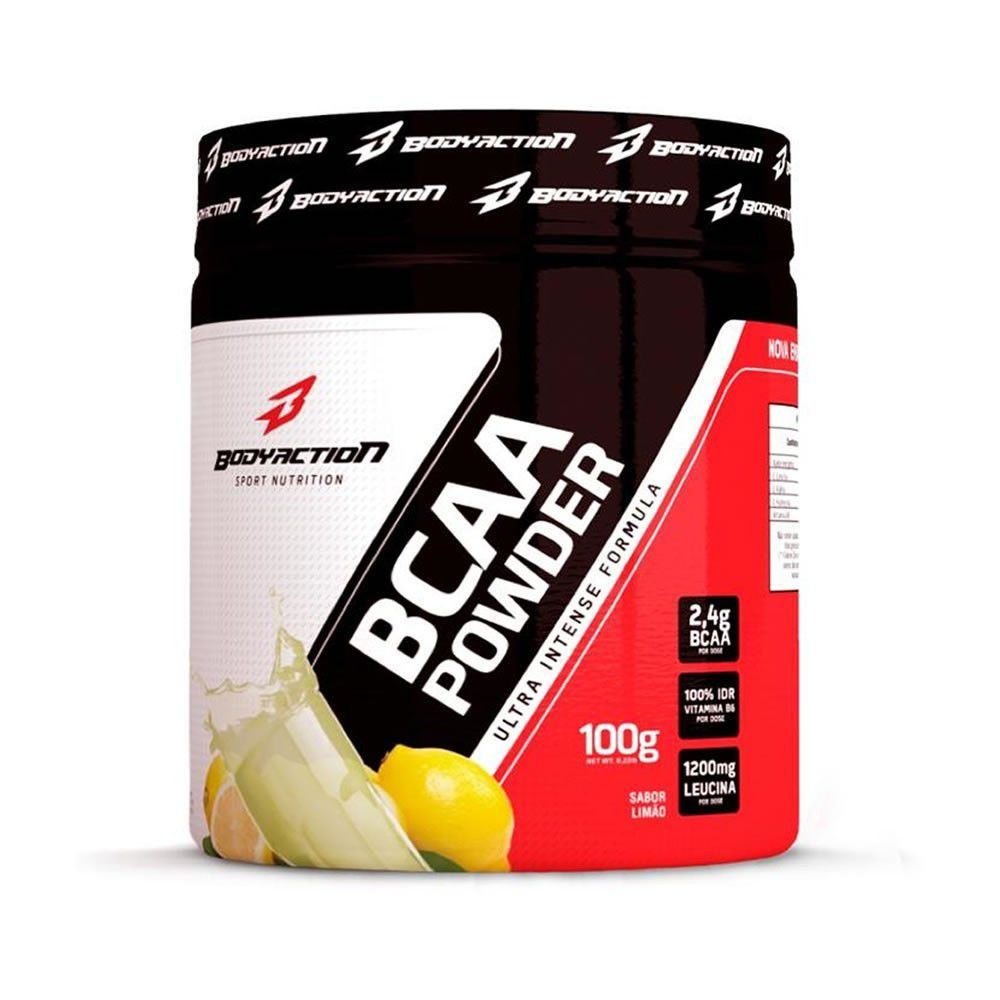 Bcaa Aminoácido Muscle Builder Powder 100g