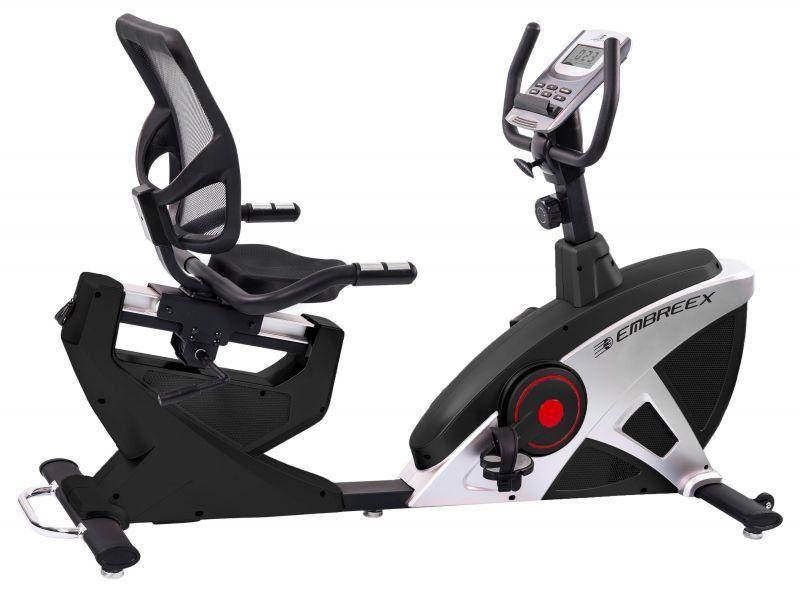 Bike 310RED Horizontal Semi Profissional Magnetica 15 Niveis de Resist - Embreex