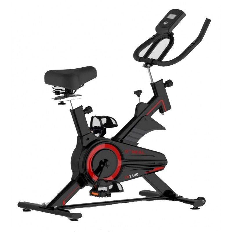 Bike Spinning Oneal TP1300 Semi Profissional Flywheel Uso Residencial - Preto