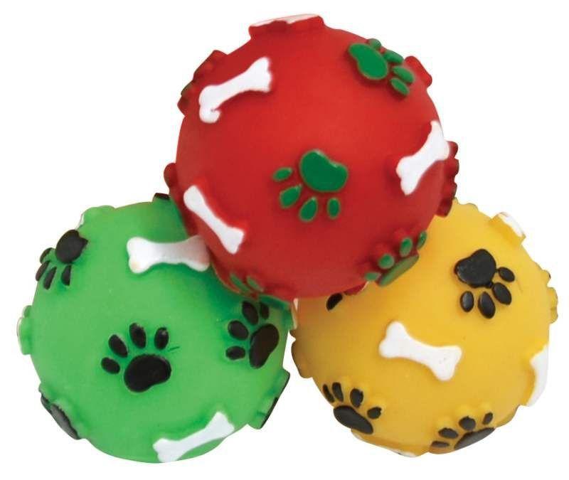 Bola para Cães Mini Pata Osso - São Pet