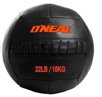 Bola Wall Ball Couro Legitimo 10Kg Treinamento Funcional  Crossfit Oneal