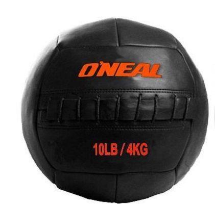 Bola Wall Ball Couro Legitimo 4Kg Treinamento Funcional  Crossfit Oneal