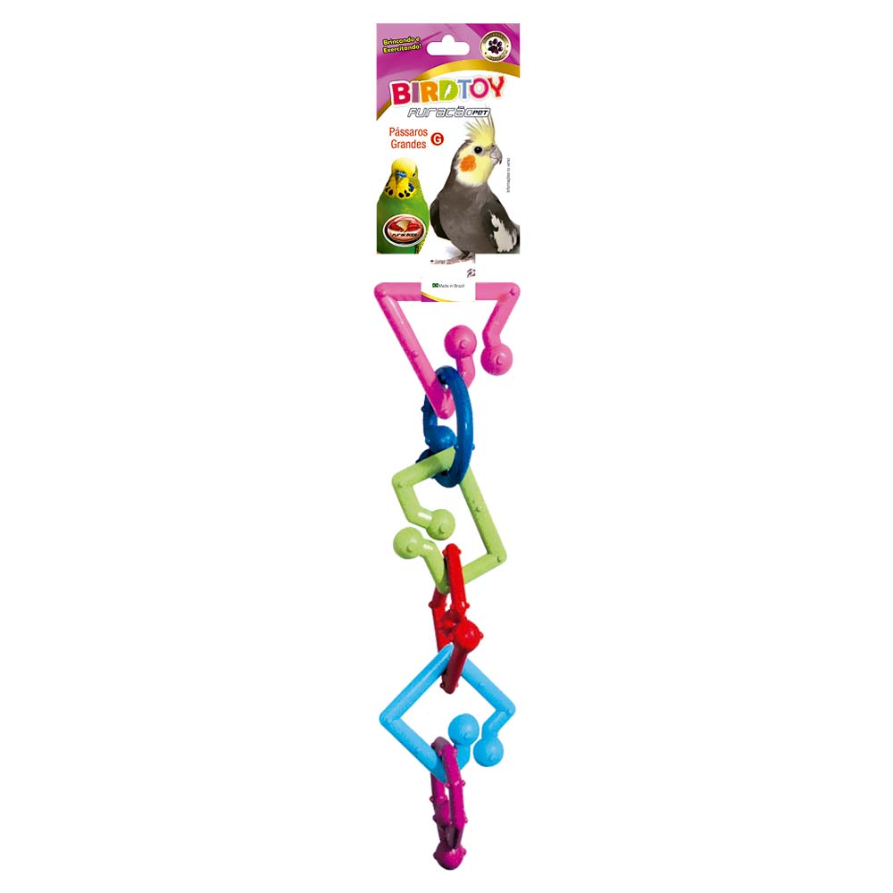 Brinquedo Bird Toy para Pássaros - Grande - Furacão Pet