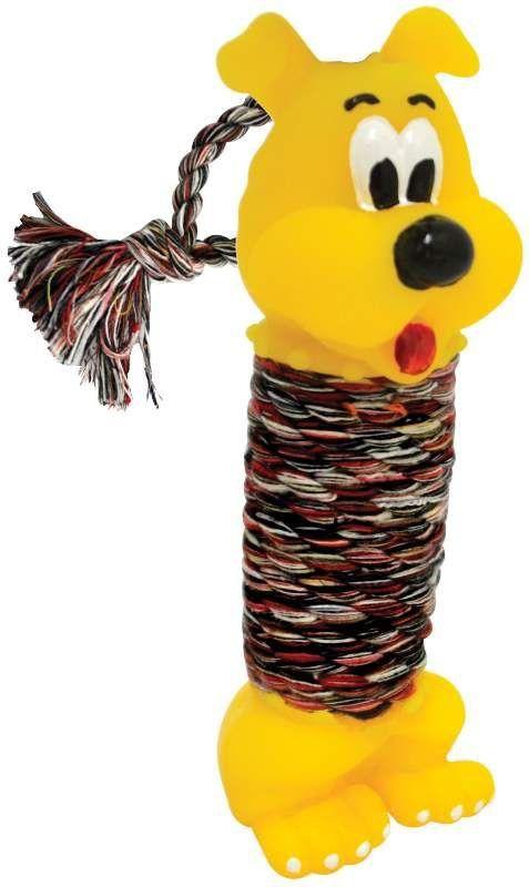 Brinquedo Cachorro com Corda