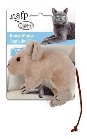 Brinquedo Classic Comfort House Mouse para Gatos - AFP