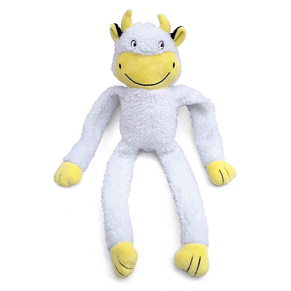 Brinquedo de Pelúcia Vaca para Cães - Chalesco