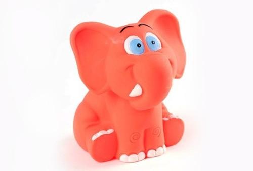 Brinquedo Elefante em Látex Atóxico para Cães e Gatos - Latoy
