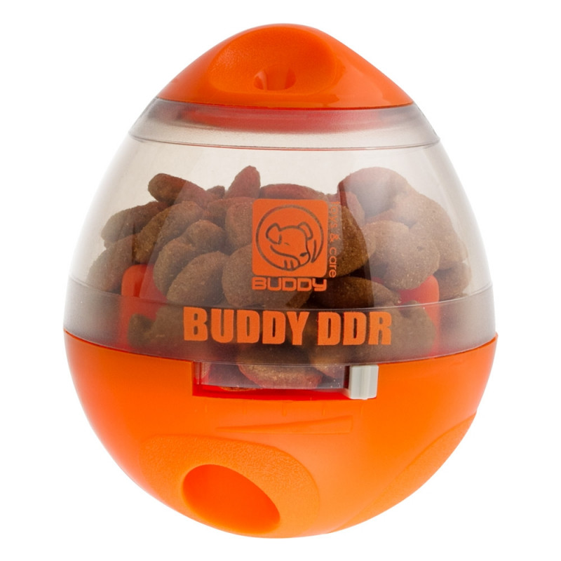 Brinquedo Interativo Dispenser de Ração DDR para Cães - Buddy Toys