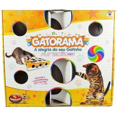 Brinquedo Interativo Gatorama para Gatos - Furacão Pet