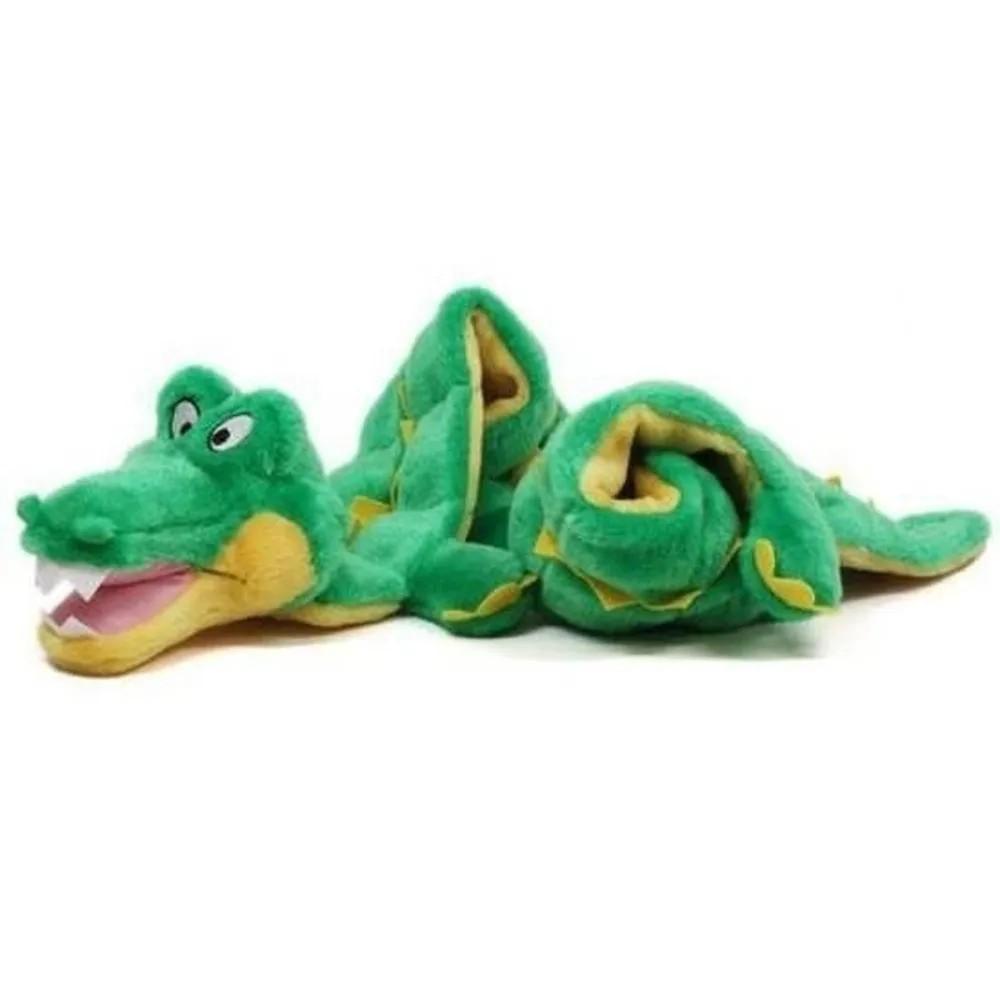 Brinquedo Mega Squeaker Jacaré Gigante para Cães - Outward Hound