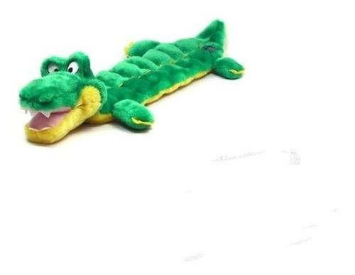 Brinquedo Mega Squeaker Jacaré para Cachorros - Grande - Outward Hound