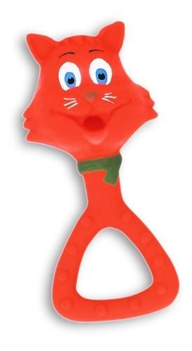 Brinquedo Mordedor Gatinha em Látex Atóxico para Cães e Gatos - Latoy
