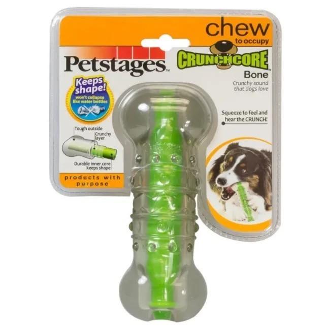 Brinquedo Mordedor Osso CrunchCore para Cães - Grande - Petstages