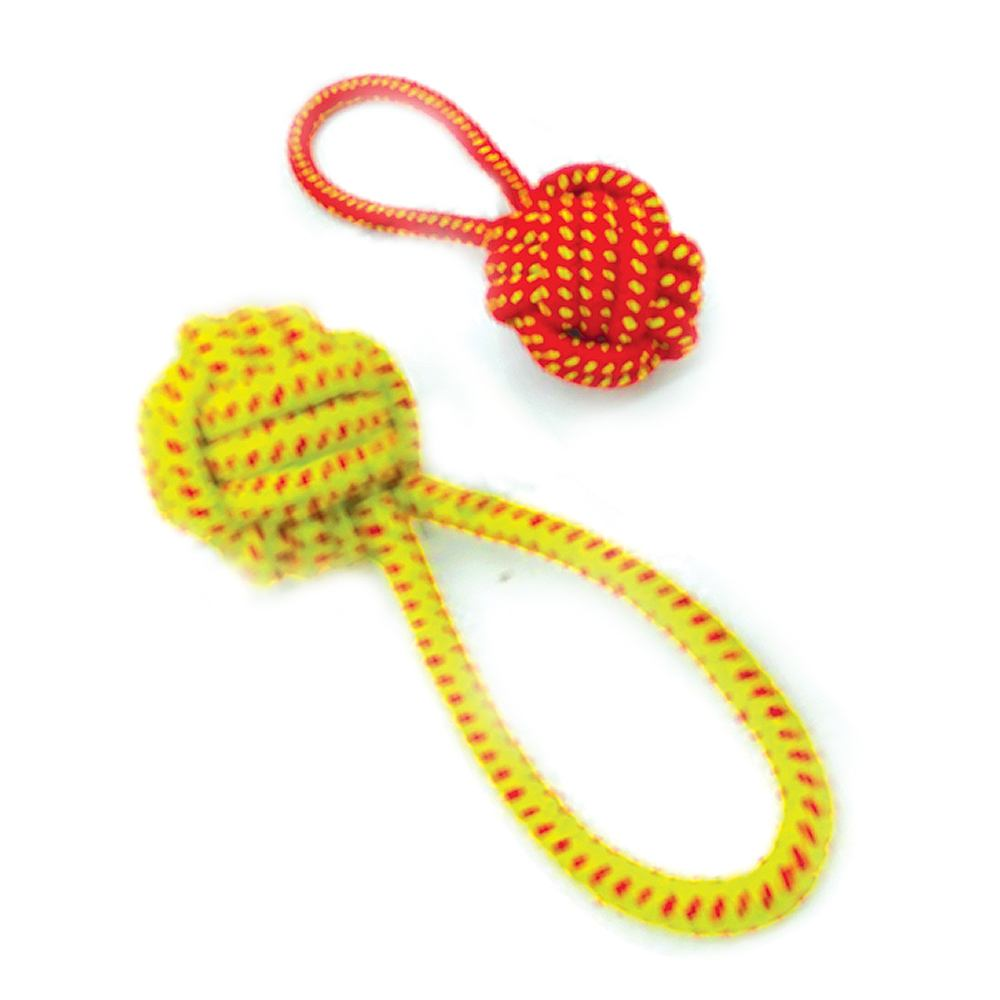 Brinquedo Mordedor Rope Ball Plus para Cães - Chalesco