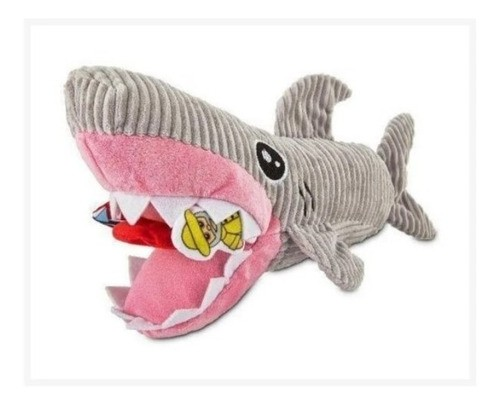 Brinquedo Mordedor Tubarão de Pelúcia para Cães - Petco