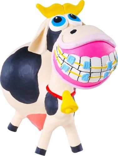Brinquedo Vaquita em Látex Atóxico para Cães e Gatos - Latoy