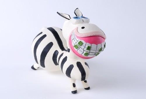 Brinquedo Zebrita em Látex Atóxico para Cães e Gatos - Latoy