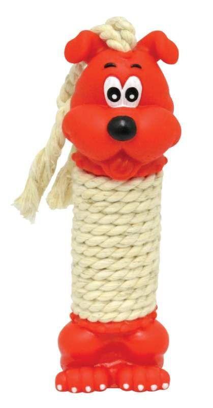 Brinquedo Cachorro Halteres com Corda para Cães - Médio - São Pet