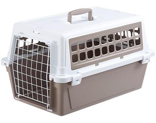 Caixa de Transporte Atlas 20 Trendy V.1 para Cães e Gatos - Ferplast