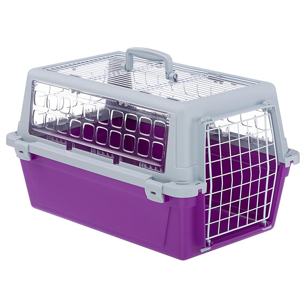 Caixa de Transporte Atlas Trendy Open 20 para Cães e Gatos - Ferplast