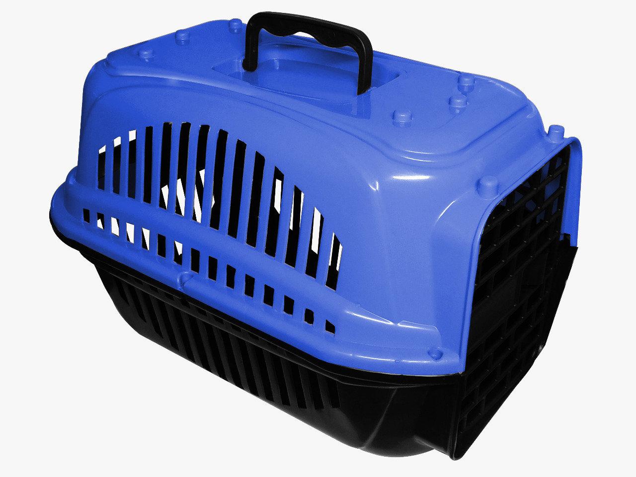 Caixa de Transporte Plástica para Cães e Gatos - N1 - Brinqpet
