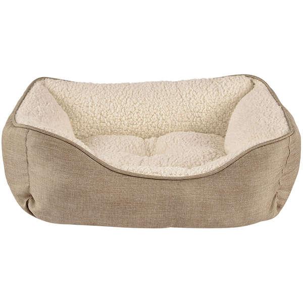 Cama com Pelúcia de Carneiro para Cães e Gatos - PP - Petco-Harmony