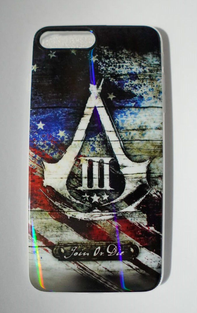 Capinha p/ Celular Iphone 7 PLUS - Assassin's Creed - Join or Die