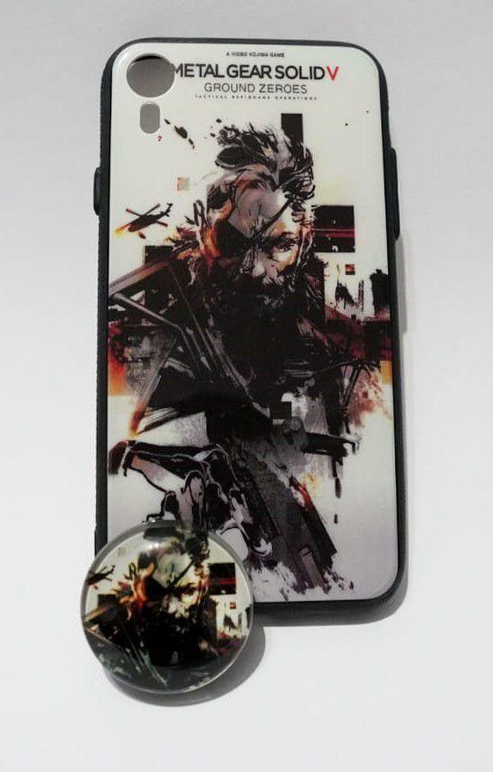 Capinha para Celular Metal Gear Solid com POP - Iphone XR - UNION