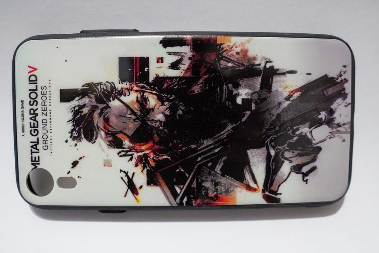 Capinha p/ Celular Iphone XR com POP GAME Metal Gear Solid - Plástico Resistente