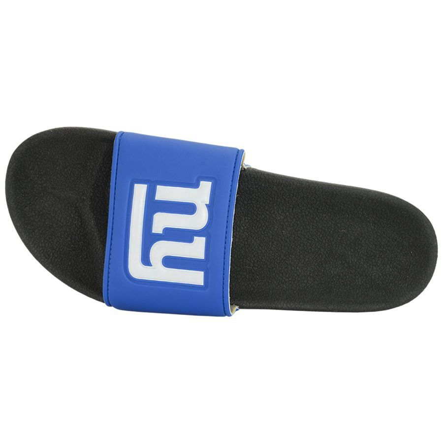 Chinelo Oficial NFL New York Giants Sintético Azul/Preto