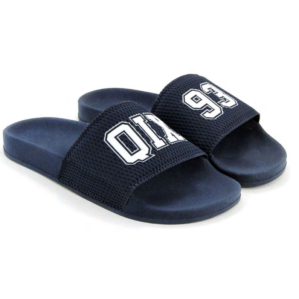 Chinelo Slide Azul Marinho/93 100% Autêntico - QIX
