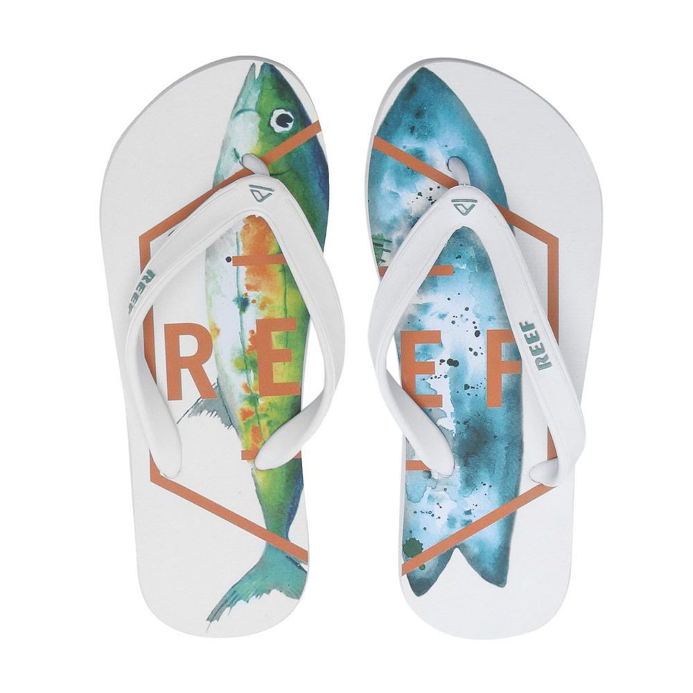 Chinelo Switchfoot Fusion White Reef