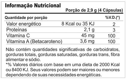 Colágeno Hidrolisado C/ Betacaroteno + Vit C Sabor Morango 150g Profit