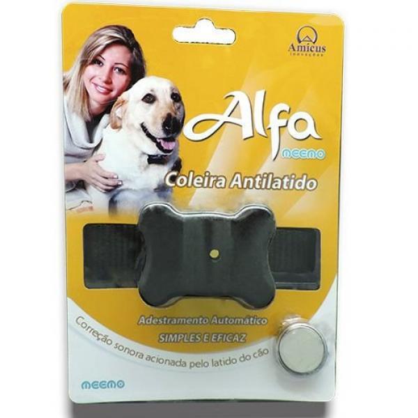 Coleira Anti-latido Alfa 2 para Cães - Som - Amicus