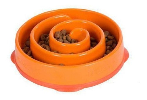 Comedouro Lento Antiderrapante Fun Feeder para Cães - Mini - OutwardHound